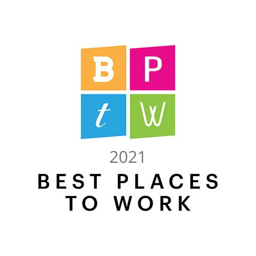 CBJ best places to work 2021 award